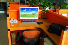 Hongge Computer desk, paper office furniture, office desk with cheap price