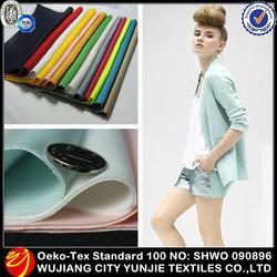 Air Layer Knit Spandex Interlock Thick Lady Scuba Textiles Fabric