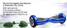 Factory wholesale hand free self-balancing scooter pizza delivery box for scooter