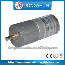 DS-25RS370 12volt dc 25mm gear motor with brushed motor 370