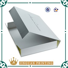 Top Sale White Custom Folding Cardboard Box with Own Logo in Guangzhou