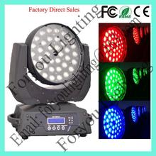 36x12w rgbwa 5in1 leds popular hotsell alibaba china 36 12w led moving head wash light