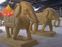 hot sale sandstone indian elephant