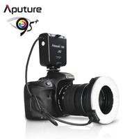 Aputure CRI95 Macro 100 Pieces LED Ring Flash Light for Canon Nikon Pentax Olympus Panasonic DSLR