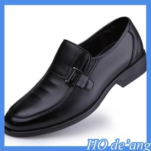 2015 factory direct new spring men's black leather shoes male business dress shoes MHo-130