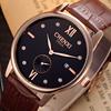 2015 Brand Luxury Alibaba China Watch Men Leather,Genuine Leather Watch,Leather Watch