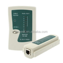 RJ45 and RJ11 Network Cable Tester(White)
