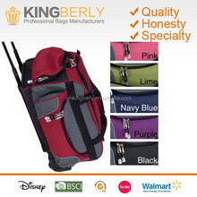 Carry On Rolling Upright Duffel Bag, Travel Hotel Luggage Trolley