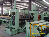 high speed 2200mm Hydraulic metal coil slitter line