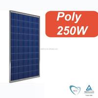 A grade cheap price 250w poly sunlight panel