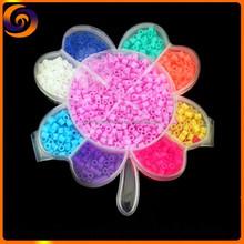 Hot sale DIY plastic Four Leaf Clover box perler beads