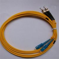 factory supply best quality indoor and outdoor sc sx mm fiber optic patch cord