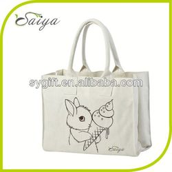colored promotional heavy cotton canvas tote