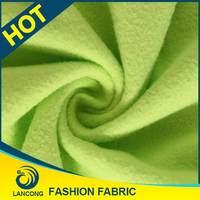 Clothing Material Elastane neon orange knit fleece