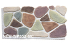 Colorful exterior faux rock panel, waterproof, fireproof, light weight stone, PU artificial stone
