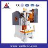 C frame power press punching machine