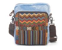Wholesale 2015 Promotion men canvas messenger bag