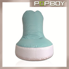 fashion and comfortable bean bag hot selling highback beanbag chair