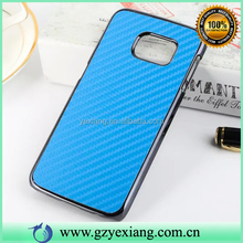 For Samsung Galaxy S6 Carbon Fiber Cell Phone Case Back Cover