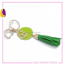 Promotion Customized Logo key chain/PU Leather Car Keychain/Key chain With Gift