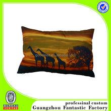 camel printing small cheap cushion covers