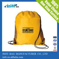 China supplier christmas ornaments wholesale custom polyester slazenger backpack bag