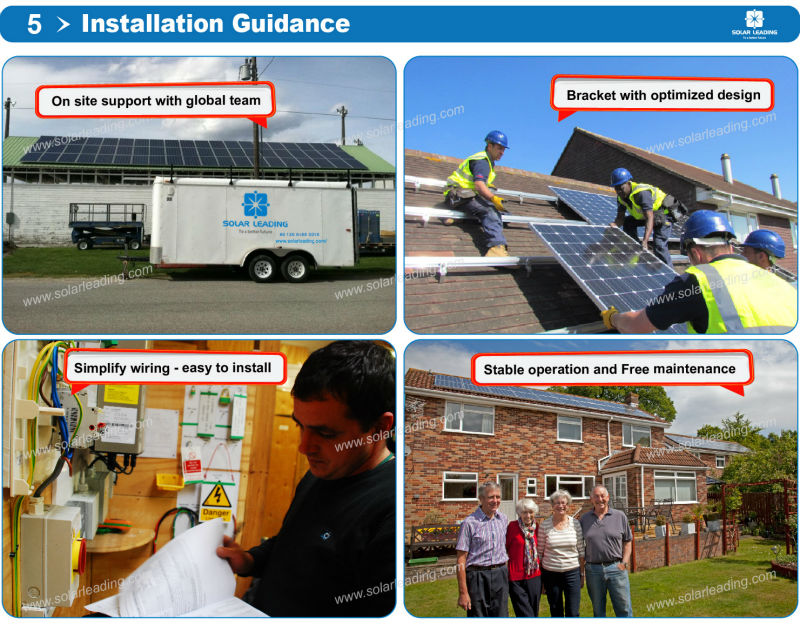 Solar PV ground-mounted solar power Solar Energy Package rooftop 3KW solar system photovoltaic system