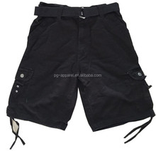 Apparel Stocks Mens Cargo Shorts with Belt