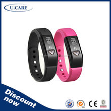 Sleeping calorie wristband step counter, android smart watch 2015, silicon wrist band