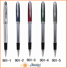 Latest Hot Sale Custom writing supply pen/roller pen/ metal gift pen for promotion 901
