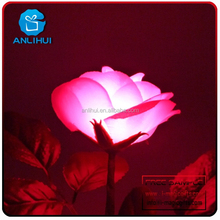 2015 New wedding stage decoration rose led flowers