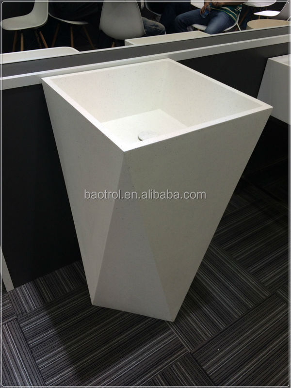 Stand Alone Sinks For Bathroom : ... free standing bathroom sink/stand alone sinks/colored toilet sinks