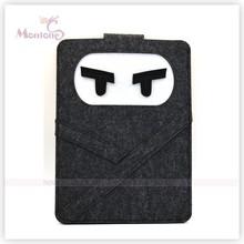 22*27cm Black Wool Felt Fabric Document Bag ,File Bag