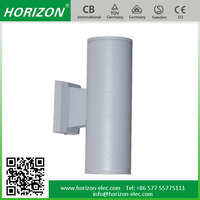 Wall Mounted LED light mount surface with curve customize diameter,length size shine up and down wall light