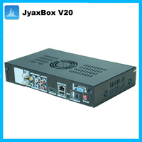 JyaxBox Ultra HD V20 MPEG4 8psk Satellite receiver with WIFI and JB200 module for USA Puerto Rico Canada