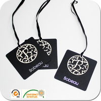 Custom Clothing Hang Tags DIY Card with Attachment