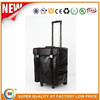 leather beauty trolley leather makeup case with drawers leather makeup train case nail polish rolling case