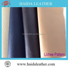 New product design PVC imitation emboss leather raw material leather per yard