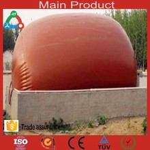 Animal dung,straw, vegetable, and food waste pvc biogas digester fermenting with flexible new material