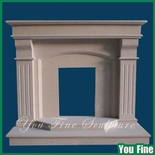 Simple Carving Marble Fireplace Mantel Lowes Fireplace surrounds