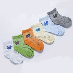 fashion breathable mesh flat cute dog dots pure color children socks