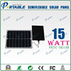 Hot Sale flexible waterproof portable solar charger for Iphone,battery,Ipad,laptop