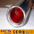 Tubo de vacío con tubería de calor metática