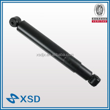 Steering dampers in suspension system with heavy duty