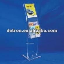 2012 Brochure Display/Made of Acrylic/Acrylic Magazine Stand A228