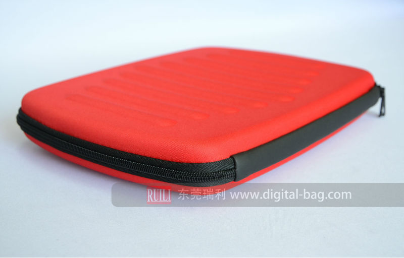 Red fashional protective case for laptop cases