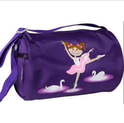 Fashion Girl Beatiful Ballets Duffel Bag