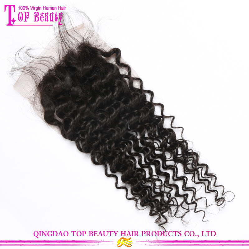 Indian Hair Invisible Part Closure 73
