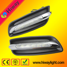 Super bright car spare parts led drl fog light for nissan teana 2012 LED daytime running light