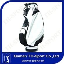 2013 cartoon hot sailing and brand leather golf bag